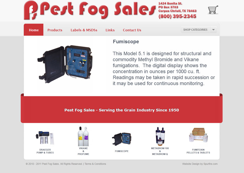 Pest Fog Sales