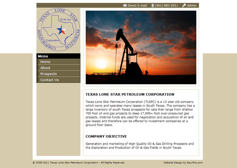 Texas Lone Star Petroleum Corp.